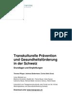 Transkulturelle Prävention und Gesundheitsförderung in der Schweiz