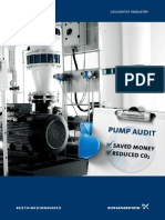 Pump Audit