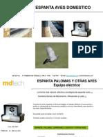 Espanta Aves Domestico 2013