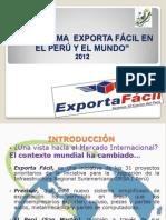 Exporta Facil Exposicion