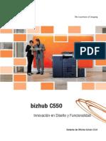 Bizhub c550