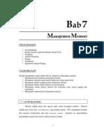 7.Manajemen Memory