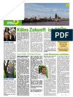 GRÜNE Wahlkampfzeitung GRÜZ