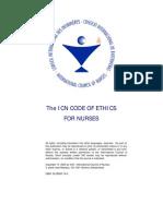 Nurses Code of Ethics
