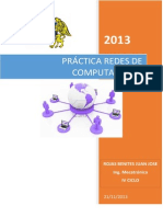 PRÁCTICA REDES DE COMPUTADORAS