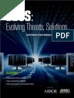 Ddos Threats Solutions