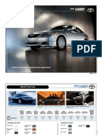 Toyota Camry 2009 Brochure
