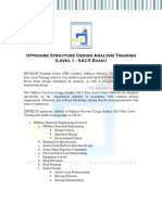 SACS Basic_Offshore Structure Design Analysis Training