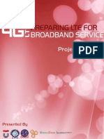 Proposal - Seminar Preparing LTE for Broadband Service
