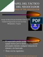 (10) Papel Tactico Del Negociador