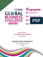 [Fingerprints Group] 2011 CIMA Global Business Challenge Report