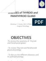 Diseases of Thyroid and Parathyroid Gland