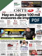 Periódico Norte de Ciudad Juarez 7 de Diciembre de 2013