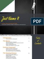 Naming Guide Final Version 1.2