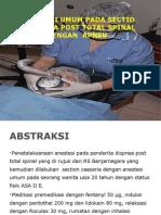 Preskas Anestesi Spinal