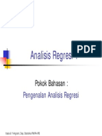 Pengenalan an Regresi 1
