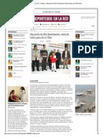 06-12-2013 'Educación de Alto Rendimiento, meta de todos para 2014_ Elías'.
