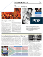 Special page on Nelson Mandela