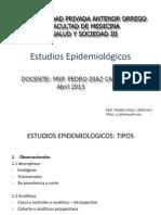 6. Estudios epidemiológicos