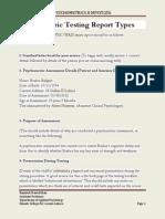 Psychometric Testing Report of WAIS (1)