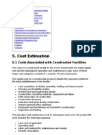 Project Manageemnt - Cost Estimation