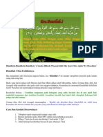 Khasiat Bismillah 3X