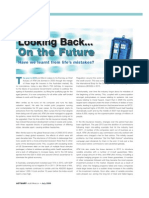 Looking Back... On the Future