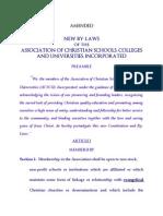 Acscu by Laws