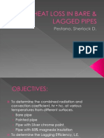 Heat Loss in Bare & Lagged Pipes Presentation