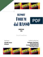 "Forum dal basso - ""World Café a Crispiano"""