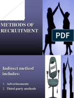 Indirect Methods of Recruitment- Hr