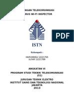 Xirrus Wi-Fi Inspector by Hairunnisa 12221765 Ulfar 12221789