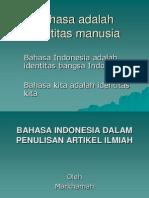 8. Daroe - Bahasa Indonesia