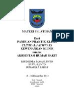 Dody Firmanda 2013 - Materi Pelatihan RSUD Kota Sawahlunto Sumatra Barat