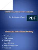 Carcinoma Unknown  Evaluation PPT