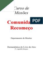 Hermeneutica Do Livro de Atos