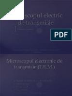 Microscopul electronic de transmisie
