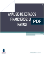 120 Analisis de Estados Financieros, Los Ratios