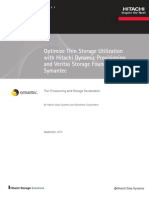 Hitachi Optimize Thin Storage Utilization