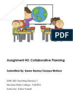 EDRL442 Fall2013 KarenBerrios Assignment 3 Skills and Strategies Day 5