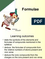 Formulae writing