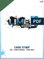 LIME 5 Case Study Puma India