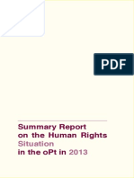 Summary Report On Human Rights Violations In 2013