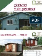 Catalog Casute de Gradina 20111