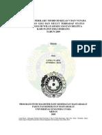 Hubungan Perilaku Murid Sd Kelas v Dan Vi Pada Kesehatan Gigi Dan Mulut Terhadap Status Karies Gigi Di Wilayah Kecamatan Delitua Kabupaten Deli Serdang Tahun 2009