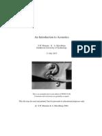 9. 2004 S.W. Rienstra & a. Hirschberg-Acoustics