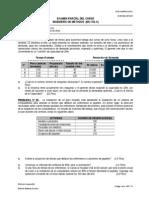 Examen Parcial 2013 I