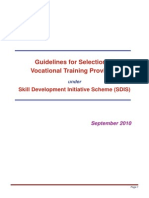 Vtp Guidelines