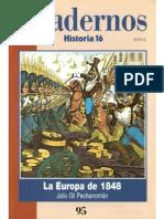 Cuadernos Historia 16, nº 095 - La Europa de 1848