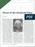 UMEBOSHI Cancer Treatment